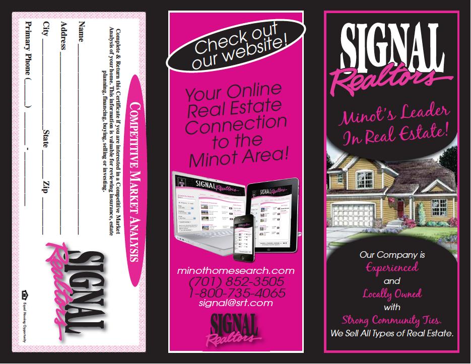 Signal Brochure Side 1